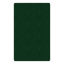 Healthy Living Solid Color Rug - Rectangle - Emerald Green