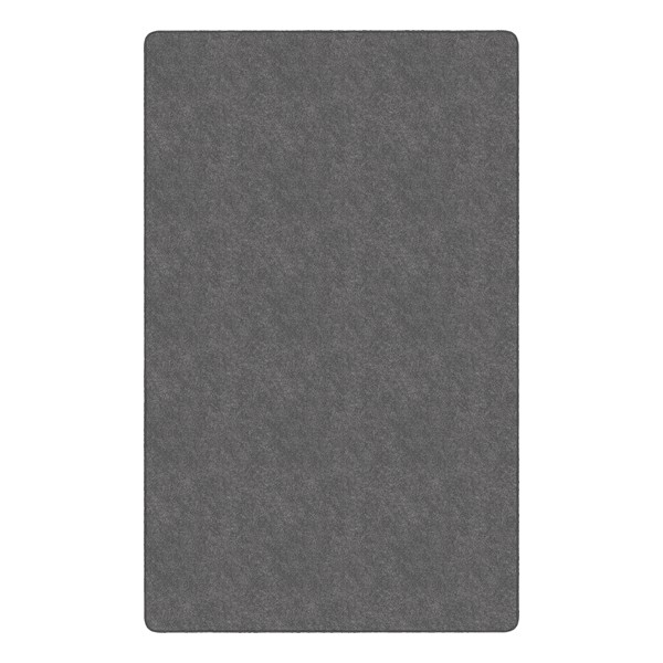 Healthy Living Solid Color Rug - Rectangle (12' W x 15' L) - Gray