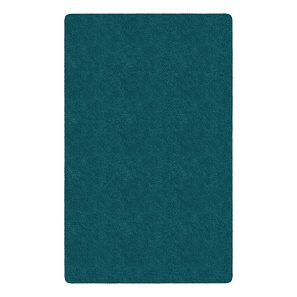 Healthy Living Solid Color Rug - Rectangle (12' W x 15' L) - Marine Blue