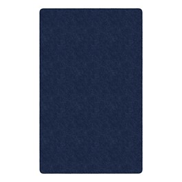 Healthy Living Solid Color Rug - Rectangle (12\' W x 15\' L) - Navy