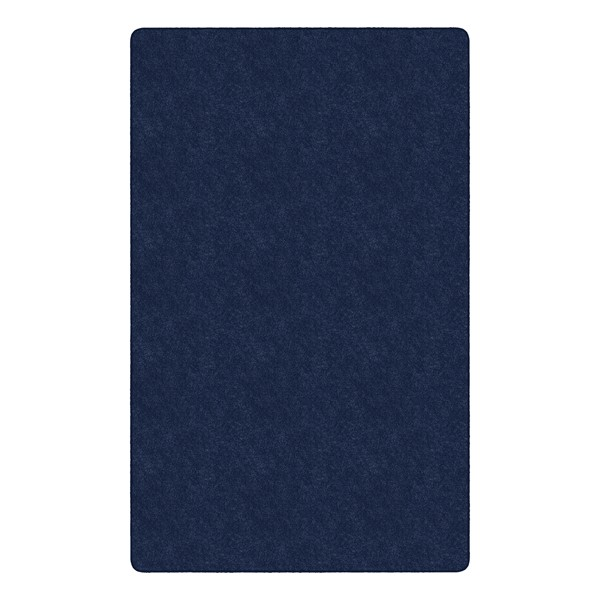 Healthy Living Solid Color Rug - Rectangle (12' W x 15' L) - Navy