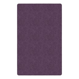 Healthy Living Solid Color Rug - Rectangle (12' W x 15' L) - Purple