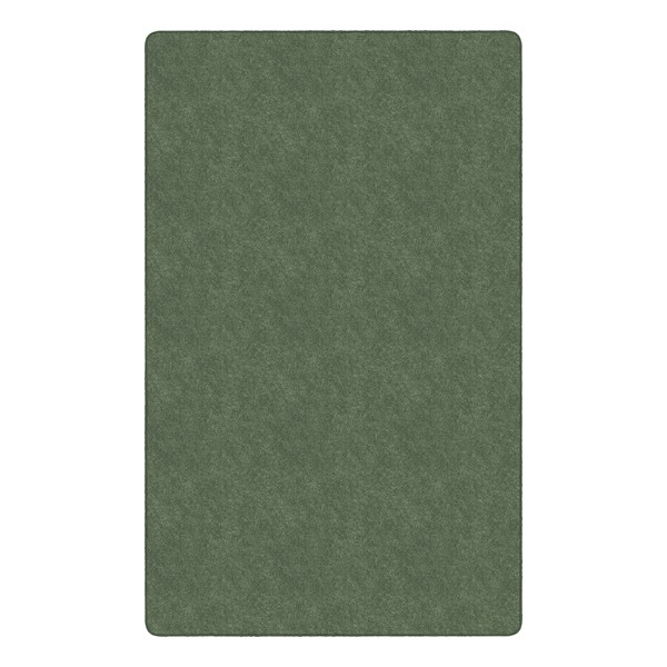 Healthy Living Solid Color Rug - Rectangle (12' W x 15' L) - Sage Green
