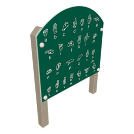 Sign Language Panel (Recycled Plastic)