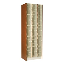 "Small Instrument Locker w/ Grille Doors - 15 Compartments (18 1/4"" D)"