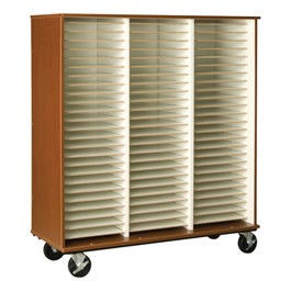Instrument Folio Storage Cabinet Without Doors