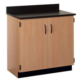 "36"" W Base Cabinet w/ Lockable Doors"