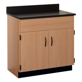 "36"" W Sink Base Cabinet w/ Doors"