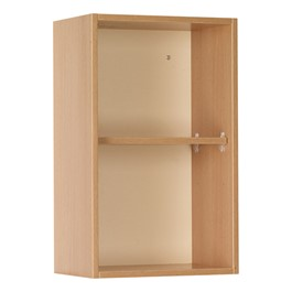 "18"" W Science Wall-Mount Upper Cabinet w/ Open Shelf"