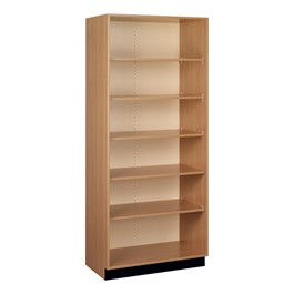 "Tall Storage Cabinet w/ Open Shelves (36"" W x 23\"" D x 84\"" H)"