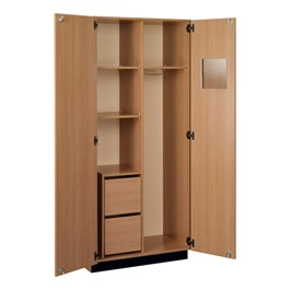 Instructor Wardrobe w/ Drawers