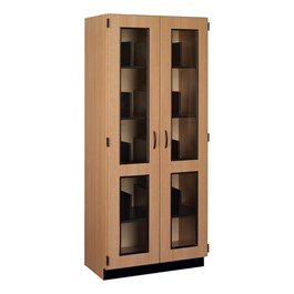 Microscope Storage Cabinet w/ Doors (Holds 20 Microscopes)