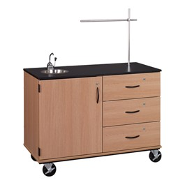 Demonstration Mobile Workstation w/ Mirror & Drawers