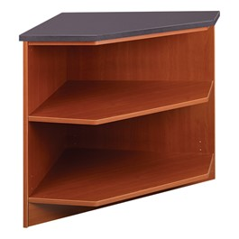 "30"" H Modular Circulation 90° Outside Corner Shelf"