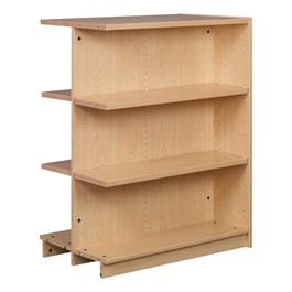 "Double-Sided Adjustable Shelving - Adder Unit (47"" H)"
