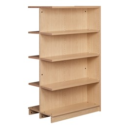 "Double-Sided Adjustable Shelving - Adder Unit (61"" H)"