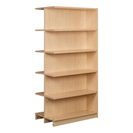 "Double-Sided Adjustable Shelving - Adder Unit (74"" H)"