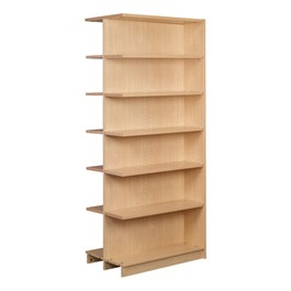 "Double-Sided Adjustable Shelving - Adder Unit (84"" H)"