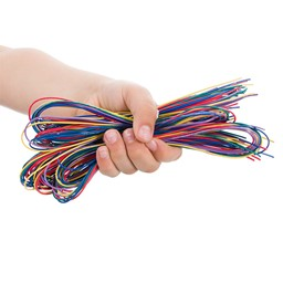Catch the Bug Electronics Activity - Pack of 10 - Wires