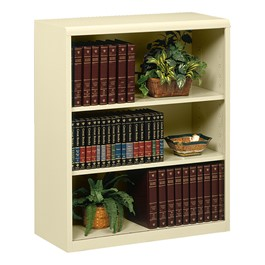 "Executive Bookcase w/ out Doors (42"" H) - Putty"