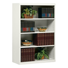 "Executive Bookcase w/ out Doors (52"" H) - Light Gray"