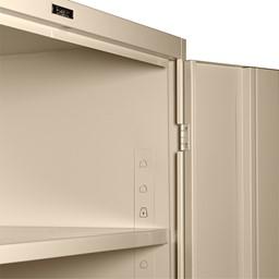 Deluxe Combination Cabinet w/ Glass Doors - Frame