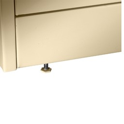 Deluxe Combination Cabinet - levelers
