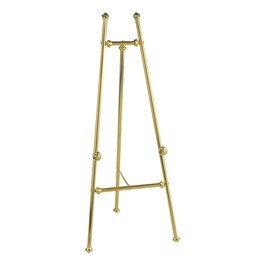 Baroque Display Easel - Brass Finish