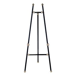 Baroque Display Easel - Black Finish