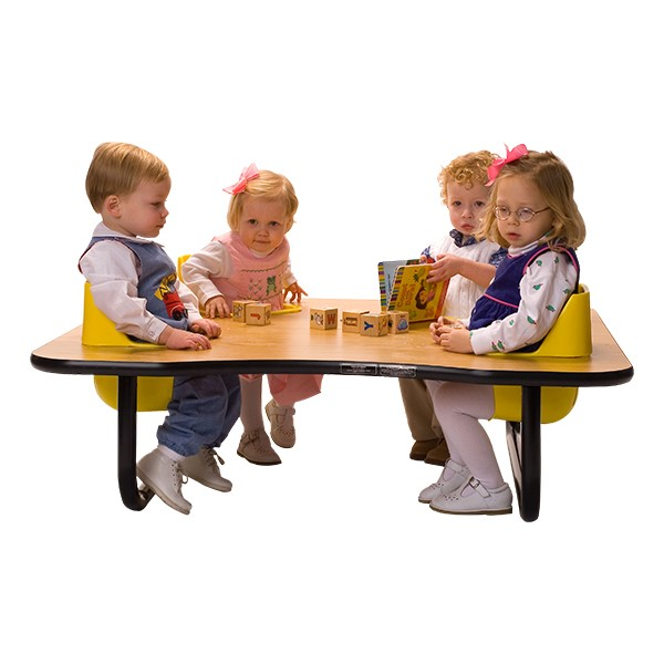 """Four-Seat Toddler Table - Traditional (14"""" H)"""