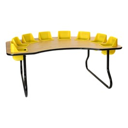 """Eight-Seat Toddler Table (27\"""" H)"""