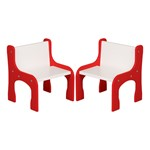 "Curved Activity Chair - Set of Two (8"" Seat Height)"