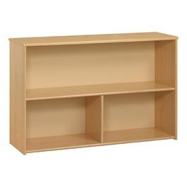Eco Shelf Storage Unit - Cherry Finish - Maple unit shown