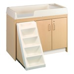 Premium Toddler Changing Center w/ Six Trays