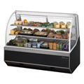 Refrigerated Curved Glass Dislay Case