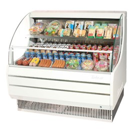 Refrigerated Open Display Case (14 Cubic Ft.)