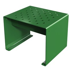 Pasedena Collection Straight Bench (2' L) - Green