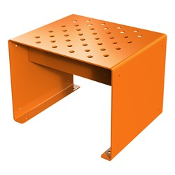 Pasedena Collection Straight Bench (2' L) - Orange