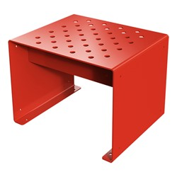 Pasedena Collection Straight Bench (2' L) - Red