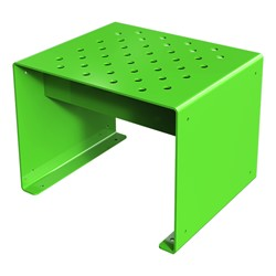 Pasedena Collection Straight Bench (2' L) - Spring Green