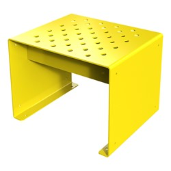 Pasedena Collection Straight Bench (2' L) - Yellow