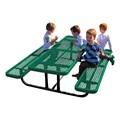 Rectangle Portable Preschool Outdoor Picnic Table