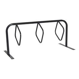 Hanger Bike Rack - Three Hoops