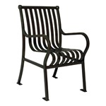 Hamilton Outdoor Chair - Shown w/ arms