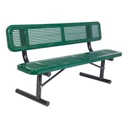 940 Series Bench - Round Perforation - Portable
