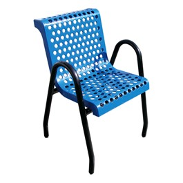 953 Series Outdoor Chair - Round Perforation