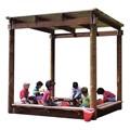 Sun Shelter Sand Box