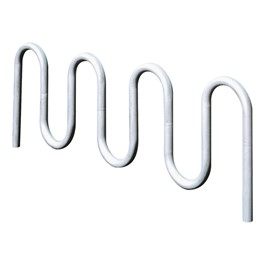 Contemporary Loop Inground Bike Rack – Nine Bikes