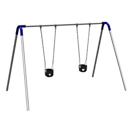 Bipod Swing Set w/ Two Toddler Seats