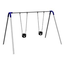 Bipod Swing Set w/ Two Toddler Seats